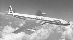 CAPITAL AIRLINES PURCHASE COMETS' was the headline in the Enterprise magazine – the internal magazine of the de Havilland Company. It referred to a (then) recent joint announcement by Capital and de Havilland which disclosed an order for 14 Comet aircraft.