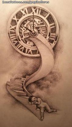 Watch Tattoos, Time Tattoos, Body Art Tattoos, New Tattoos, Sleeve Tattoos, Mommy Tattoos, Family Tattoos, Tattoo Sketches, Tattoo Drawings