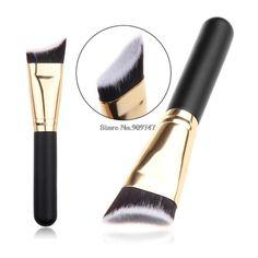 Nuevo Single brocha para polvos cosméticos pincel Contour Blush Powder Foundation Brush estudio cosmético compone el cepillo