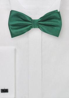 Schleife einfarbig tannengrün