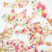 Birdsong Embellishments from Prima Marketing (Rose Print)