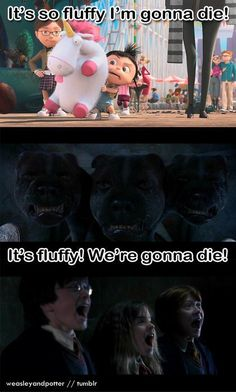 And then minions crossed the HP universe