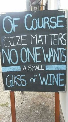 It's all about wine