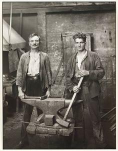 August Sander, Blacksmiths 1926