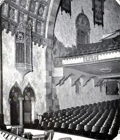 Florida Theatre, Jacksonville FL in 1927 - Proscenium Wall and Balcony Datil Pepper, Jacksonville Florida, Old Florida, Theatres, Sunshine State, Historical Pictures, Golden Age Of Hollywood, Southern Style, Night Life