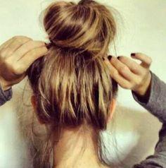 hair styles for long hair Bun Hairstyles For Long Hair, Hair Dos, Pretty Hairstyles, Braided Hairstyles, Hairstyles Haircuts, Hair Game, Hair Affair, Great Hair, Gorgeous Hair