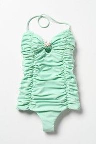 such classiness in classic one pieces,, (<3 sea foam greens) so obsessed w this one!!!!!