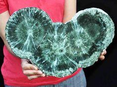 Genuine Museum 1.15 FOOT Crystallized Seraphinite Stalactite Polished Slab, Russ