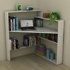 New corner desk built in only in interioropedia.com