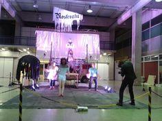 Nosferatu - montagem kombi-    palco da Academia de Palhacos/ SP.