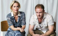 Gillian Anderson and Ben Foster tell Sarah Crompton about their suggestive, violent new Young Vic production of A Streetcar Named Desire - Coming to Riverside's Big Screen 13 - 14 December. Young Vic, Memories Faded, Vanessa Kirby, Streetcar Named Desire, Theatre Stage, Theater, David Duchovny, Gillian Anderson, Amy Adams