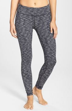 Free shipping and returns on Zella 'Live In' Cross Dye Leggings at Nordstrom.com. Lean leggings, ideal for working out or wearing out and about, are cut from a stretchy moisture-wicking knit and are sewn with flatlock seaming for a comfortable, chafe-free fit. We love that they're reversible from a smooth side to a warmer brushed one for twice the wear.