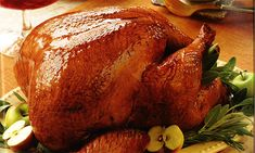 Debbie Macomber's Cedar Cove - Recipes - Golden Roast Turkey with Maple Glaze | Hallmark Channel #cedarcovetv