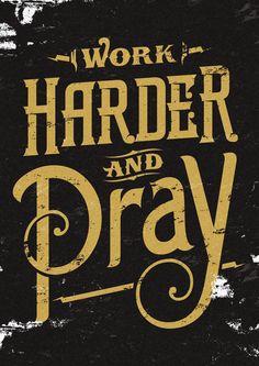 Harder by adit saputra, via Behance