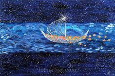 Original oil painting. Painting-№23; author: Luci Zh. Issina. 2010.