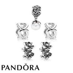 Pandora Black Friday 2015 Posy of Pearls Gift Set Clearance Deals PDR781179CZ