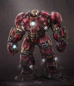 Hulkbuster Fan Art, jarold Sng on ArtStation at https://www.artstation.com/artwork/5vb8A