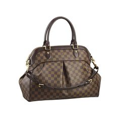 Fashion Show. Louis Vuitton Never Far Away From You!Louis Vuitton Trevi GM Brown Top Handles N51998 $213