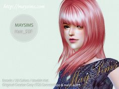 Mayims: TS4 Hair - May_TS4_hair53F