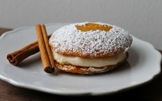 Yammie's Noshery: Pumpkin Whoopie Pies with Chai Spiced Cream Cheese Filling