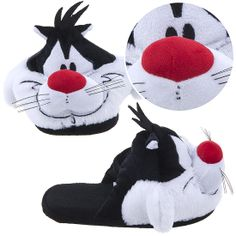 Sylvester the Cat Looney Toon Cartoon Slippers for Women.