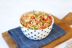 Macaroni salade - Lekker en Simpel Macaroni, 20 Min, Lose Belly Fat, Bon Appetit, Potato Salad, Bbq, Lunch, Homemade, Tableware