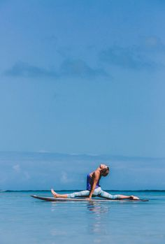 MY SUP YOGA CLASS AT TURTLE BAY | north shore oahu