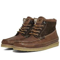 Lyle & Scott Crepe Sole Boot (Cocoa Brown)