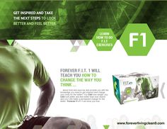 Forever FIT 1 will teach you how to change the way you think about food and exercise.  www.foreverlivingclean9.com
