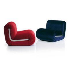 Poltrona Boomerang - design Rodolfo Bonetto- B-Line