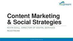 Content #Marketing & Social Strategies by RezStream
