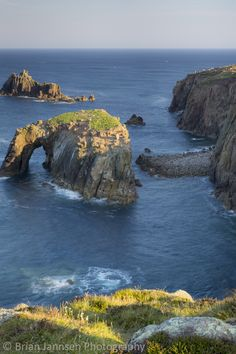 Land's End, Cornwall, England. © Brian Jannsen Photography