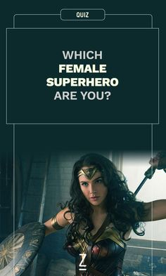 Which Female Superhero Are You? Which Female Superhero Are You? We can't all be Wonder Woman - find Dc Comics Superheroes, Marvel Heroes, Marvel Avengers, Superhero Quiz, Female Superhero, First Marvel Comic, Fun Quizzes, Random Quizzes, Online Quizzes