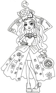 Print Ever After High Coloring Pages For Free And Printable Book Online Kids Adults Pdf