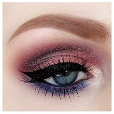 #nicola_kate gorgeous eye eye Base Coral eyeshadow from the Motives for La La Muse Paletteover lid Plum eyeshadow from Motives for La La Muse Palette blended into crease Mixture of bright blue & plum eyeshadows from the Motives for La La Muse Palette along lower lash line Onyx eyeshadow to deepen crease ·Motives by Loren Ridinger 'Vanilla' eyeshadow to highlight brow bone ·Motives by Loren Ridinger 'Antique Pink' eyeshadow to highlight around tear duct #motivescosmetics