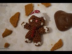DIY Häkeln Lebkuchenmann Gingerbread crochet