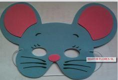 Caretas de raton gris. Más en www.martinfloressl.es Complementos para fiesta y carnaval en #sevilla
