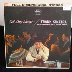 Frank Sinatra Lp No One Cares Near Mint #ContemporaryJazzJazzPop