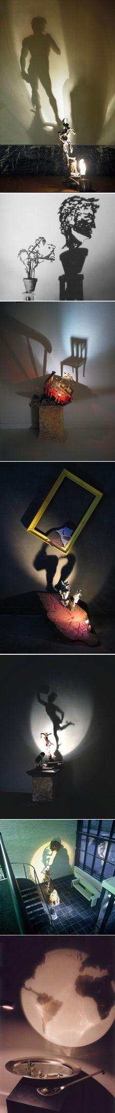 Diet-Wiegman-1 Kumi Yamashita, Ombres Portées, Installation Art, Art Installations, Shadow Art, Dutch Artists, Art Projects, Art Photography, Concept