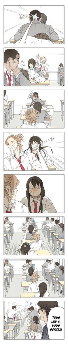 Manga Tamen De Gushi - Chapter 158 - Page 5 Anime Comics, Comic Manga, Manga Yuri, Manga Anime, Anime Art, Cute Comics, Funny Comics, Memes Humor, Funny Memes