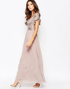 4545e9d860 Lilac Gray Bridesmaid Dresses. This pretty mix of pale purple and light  gray leaves us