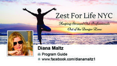 Business card design that we created for Diana Maltz.