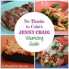 No Thanks to Cake's Jenny Craig Volumizing Guide