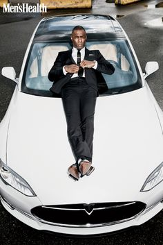 Idris Elba for 'Men's Health'