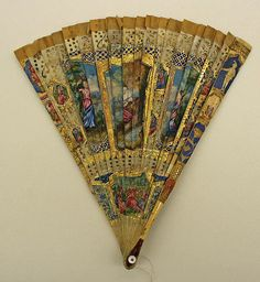 Fan Date: century Culture: British Medium: ivory Dimensions: Length: 8 in. cm) Credit Line: Gift of Miss Agnes Miles Carpenter, 1955 Antique Fans, Vintage Fans, Hand Held Fan, Hand Fans, Fan Decoration, 18th Century Fashion, Parasol, Hat Pins, Vintage Accessories