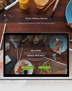 Food online order and delivery service - web UX/UI on Behance