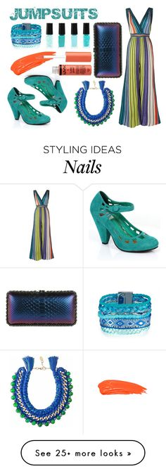 """""""Jumpsuits"""" by rebecca-miller-4 on Polyvore featuring M Missoni, Retrò, Anastasia Beverly Hills, Chanel and Ricardo Rodriguez"""