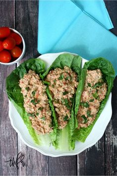 Clean Eating Raw Mock Chicken Saladmade with fresh clean ingredients is ready in about 10 minutes and it's raw vegan gluten-free dairy-free and paleo-friendly