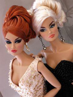 Vanessa and big sister Veronique | Flickr