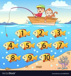 Let's learn counting number with picture and image. Let's learn counting number with picture and image. Let's learn counting number with picture and image. For more kids educational,gaming and funny video : - School Board Decoration, School Decorations, Classroom Walls, Classroom Decor, Cardboard Crafts Kids, School Painting, Numbers For Kids, Educational Games For Kids, Math For Kids